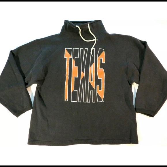 Vintage Other - Vintage 90s Texas Longhorns Mock Neck Crewneck